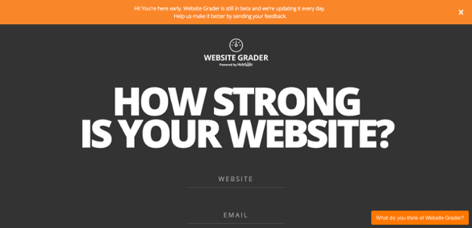 Website Grader HubSpot