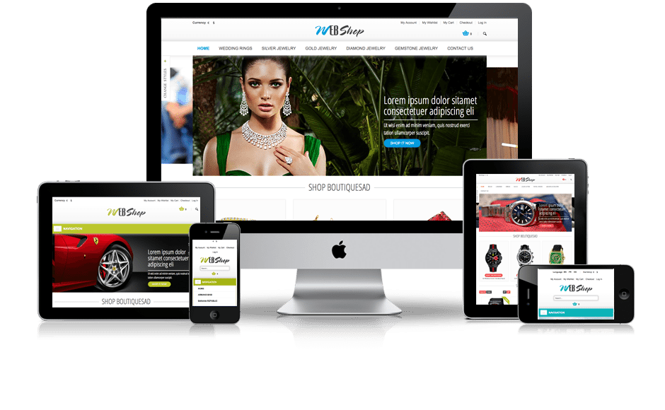 Multi Platform Ecommerce Sites